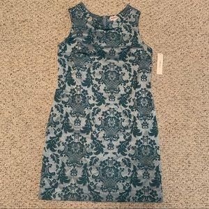 Merona brand mod retro printed  shift dress
